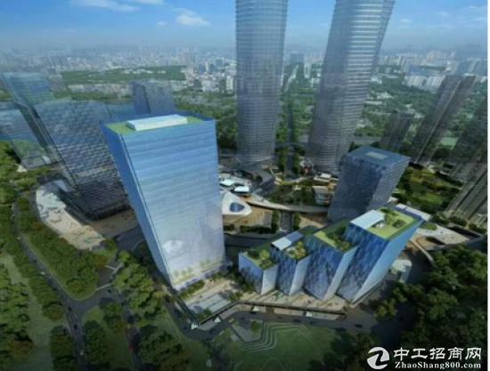 梅林关 星河写字楼甲级精品中心商务区招租图片1