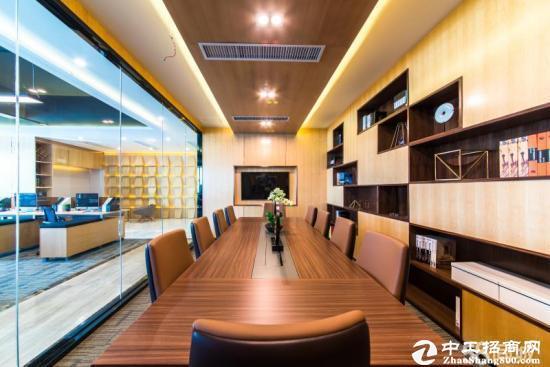 横岗永湖地铁站旁边新出1526平方精装修办公室3+1格局图片1
