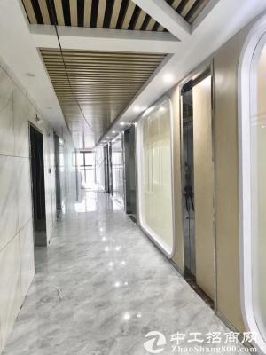 龙岗中心城 万汇大厦150平 精装带家私 免佣招租图片4