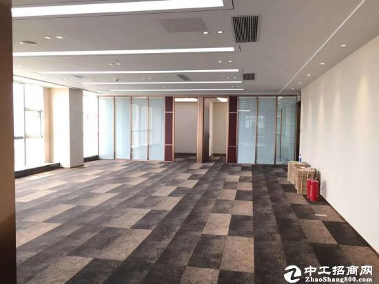 红本可注册横岗地铁站精装修甲级写字楼128平出租