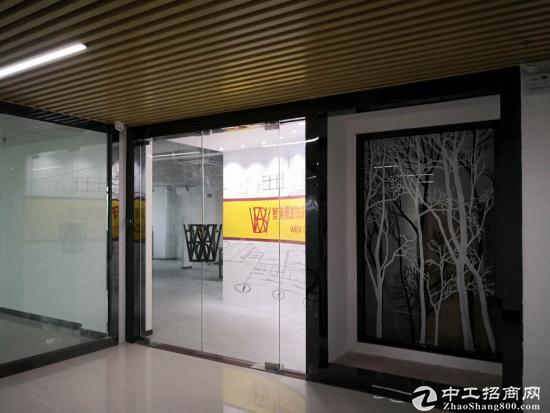龙岗中心城写字楼办公150平出租价格35每平带【观光电梯】图片4