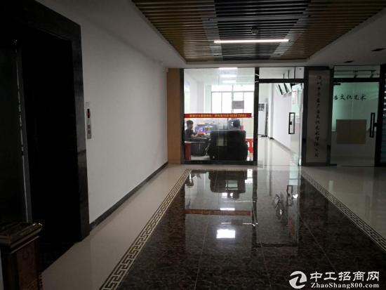 龙岗中心城写字楼办公150平出租价格35每平带【观光电梯】图片7