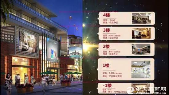 南宁市独栋办公产品——弘信城企业墅享受独栋冠名