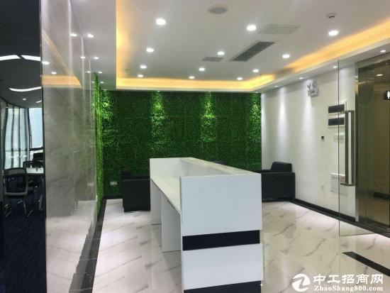 龙岗丹竹头地铁站378平精装写字楼出租.
