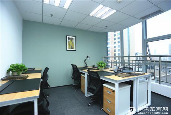 可短租可季度付的办公室30平50平、精装全配