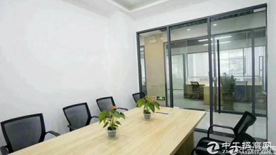 龙城广场地铁站500平精装修带家私写字楼出租