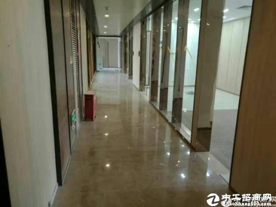 (出租) 深圳湾科技生态园451平豪装 电梯口 采光很好