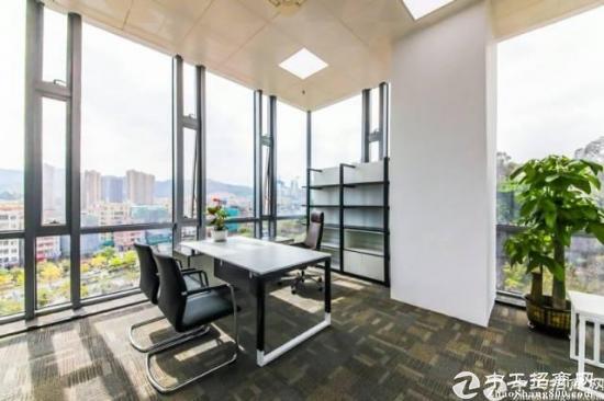 横岗地铁站新出复式写字楼350平出租价格90