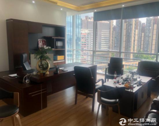 大浪商业中心精装修办公室145平方低价出租急租