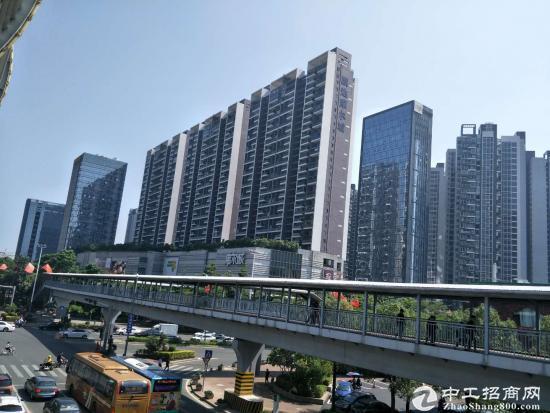 宝安龙华新区上塘地铁口精装800写字楼出租急租