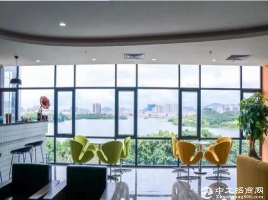 福永立新湖湖景精装写字楼149平米大小户型均有