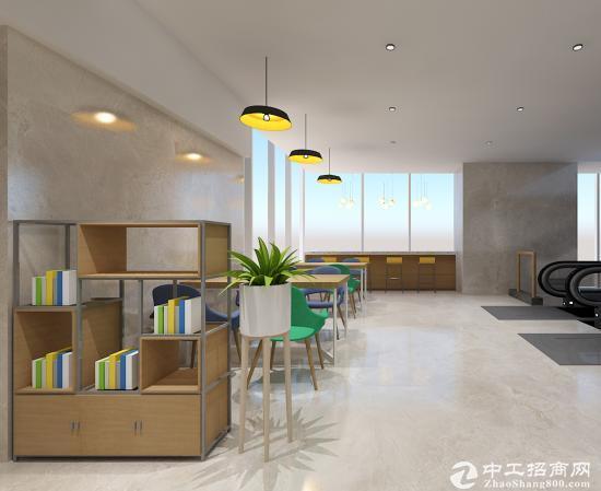 罗湖瑞思国际3人间办公室出租,租金2150全包
