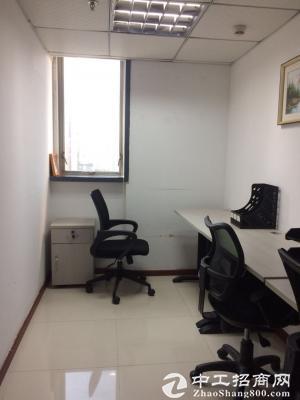 罗湖东门百货广场3人间办公室出租,2180元费用包