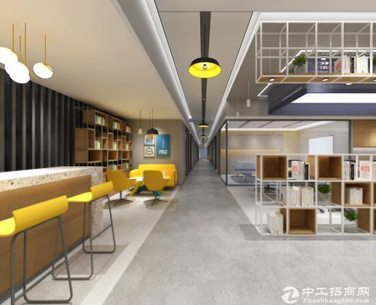 罗湖黄贝岭地铁口10至15人间办公室出租环境舒适空间大