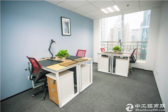 市南高品质办公室,带窗4人间精装出租