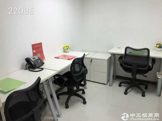罗湖东门3人间办公室出租,1380费用全包可注册