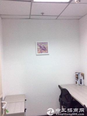 金丰城3人间独立办公室出租2180费用全包地铁口图片4