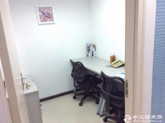 金丰城3人间独立办公室出租2180费用全包地铁口图片2