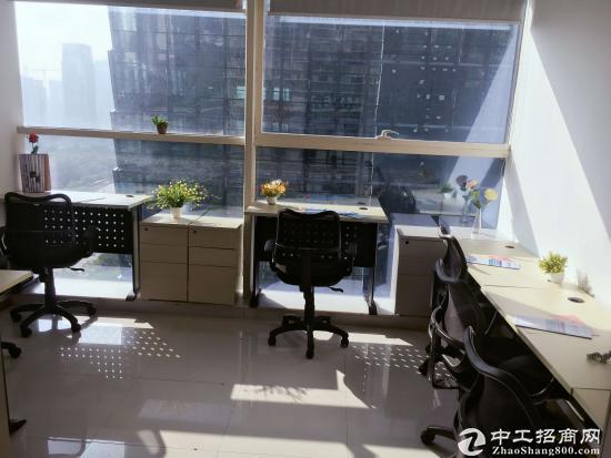 福田岗厦北【3人办公室出租2950元起】精装修,家具齐全