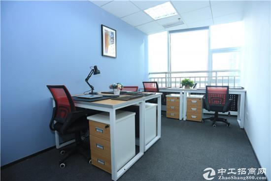 出租精装办公室,40平带窗,可注*册公司