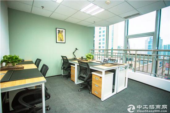 精装办公室,临近地铁,即租即用、无中介费