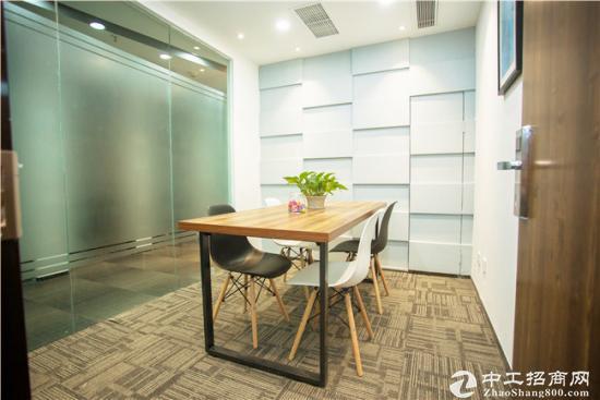 小型办公室3人间:精装带家具,随租随用
