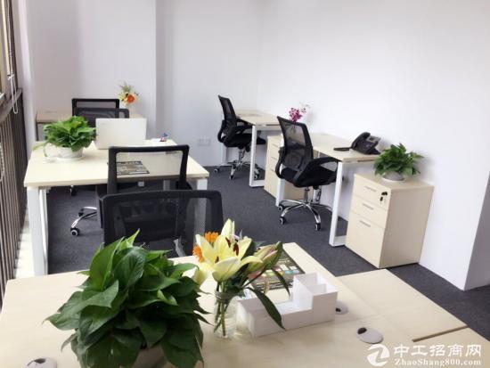宝安地址挂靠红本凭证租赁合同办公室出租可短租