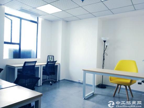 西乡8人靠窗办公室3200全包招租可短租注册用