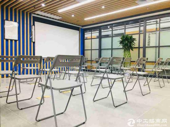创富港东大桥新店精装入驻式办公含水电物业网,非中介
