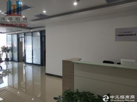 出租萝岗万达广场办公室 近地铁  双面采光 南北对流