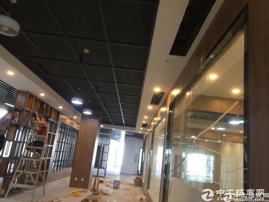福永景灏甲级写字楼精装修小面积 带办公家私图片2