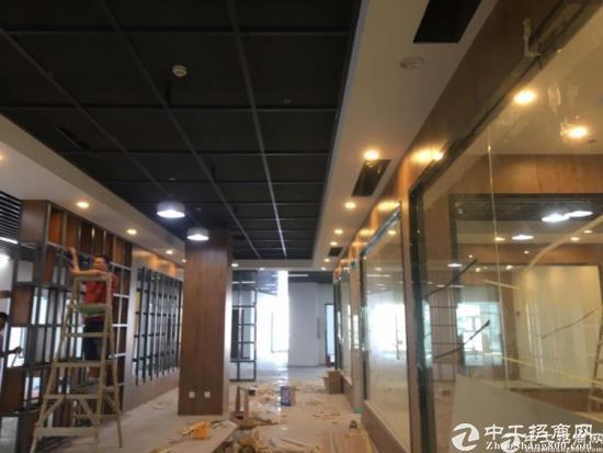福永景灏甲级写字楼精装修小面积 带办公家私图片3