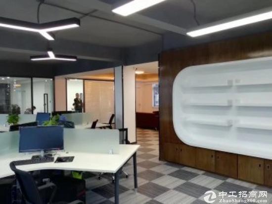 龙城广场地铁站500平精装修带家私写字楼出租图片5