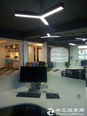 龙城广场地铁站500平精装修带家私写字楼出租图片3