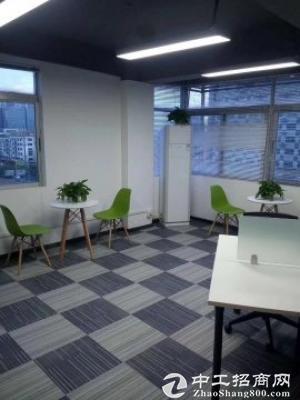 龙城广场地铁站500平精装修带家私写字楼出租图片4