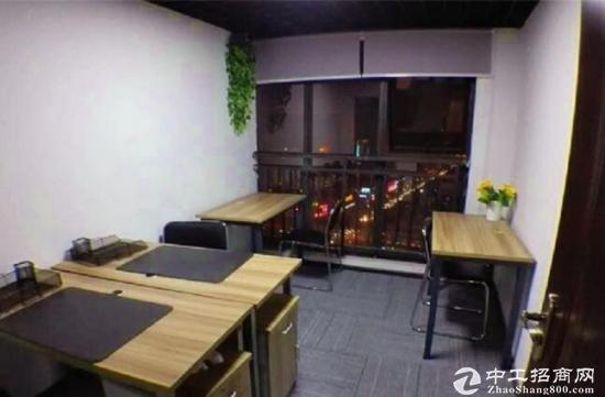 光谷广场精装小办公室物业空调水电全包可注册公司