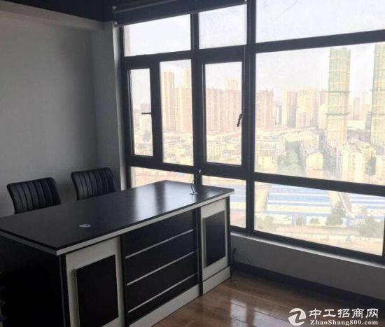汉阳正王家湾海天广场200平写字楼带家具,随时看房