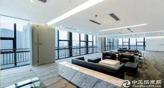 琴台地铁口5.A江景写字楼中海大厦简装办公出租