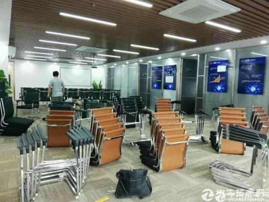 出租) 福永地铁口 同泰时代广场245平带办公家具