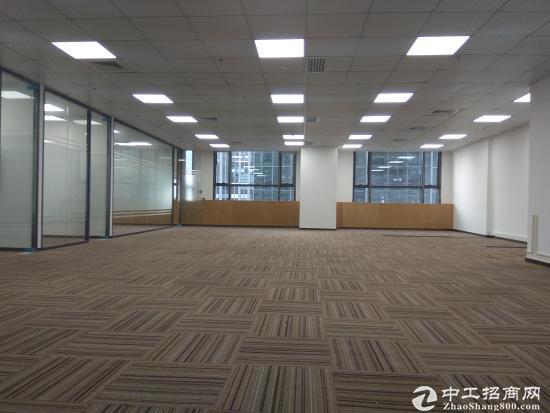 电梯口(350平)高新园地鉄泰邦科技大厦3+1格局随时