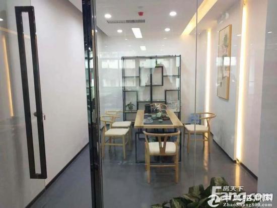 新安洪浪北地铁口精装修写字楼3200平米出租