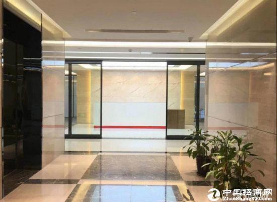 龙岗南联地铁站精装修写字楼800平业主直租