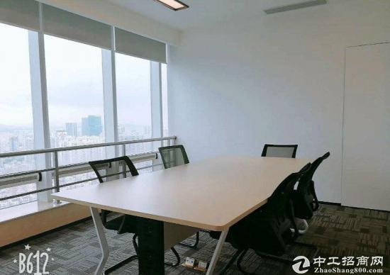 布吉中安大厦450平米精装修朝东南