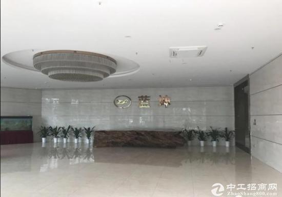 (出租)新安蓝坤集团大厦5号线附近简装修430㎡地理位置好