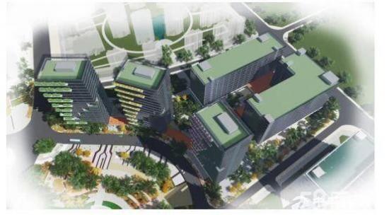 精选精装办公研发组装楼宇100平方起租,体量45万平方