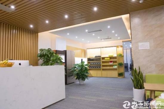 黄埔大沙地铁口创客电商园新出楼上500平精装修办公室出租