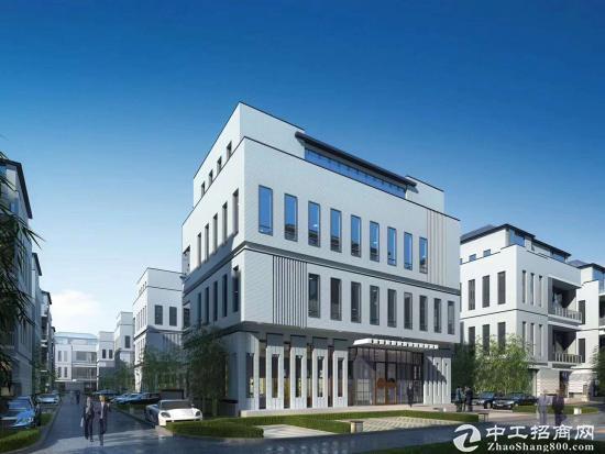 红岛高新区企业办公花园式独栋招商 买四层得六层