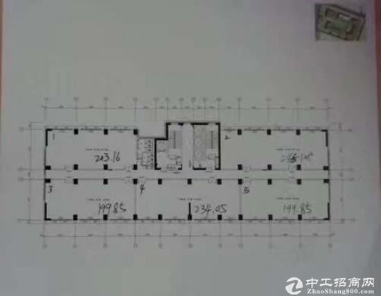 宝安松岗开发商全新写字楼可分割200平起独立红本50年产权首...