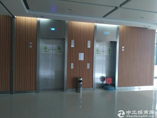 高教区地铁口128平精装带隔断办公室出租可注策