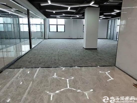 深圳南山西丽地铁口精装修 带隔间98平写字楼出租